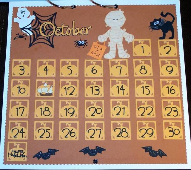 November Calendar Diy : Best images about cricut calendar s on pinterest