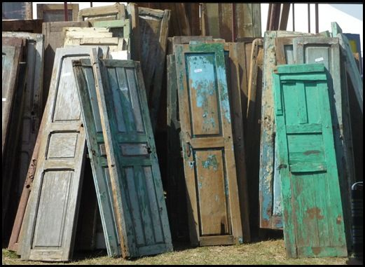 Midwest Cottage & Finds: Just a Great Picture of Vintage Doors. - 108 Best Architectural Salvage Images On Pinterest Architectural