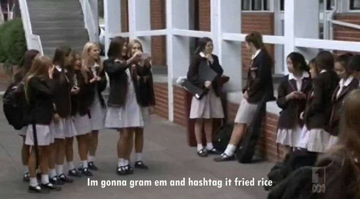 Ja'mie, racist private school girl