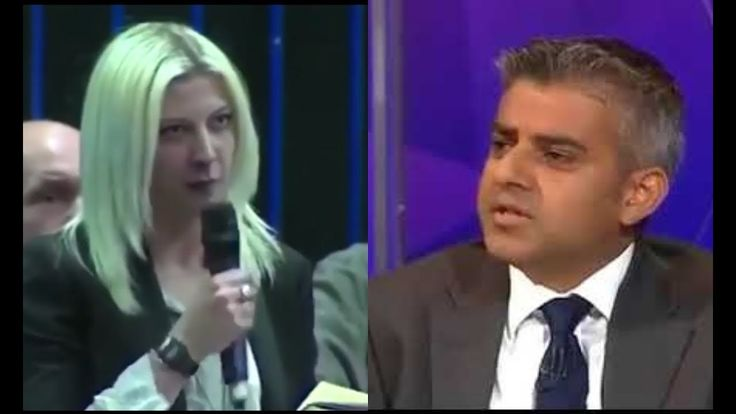 """WHY DO YOU DISRESPECT TRUMP!"" British Trump supporter CONFRONTS Sadiq Khan"