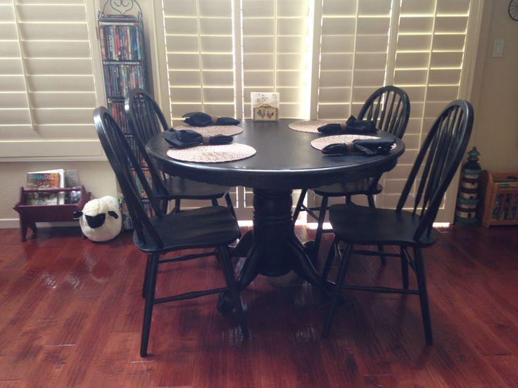 11 best Painting an oak dining table images on Pinterest Dining