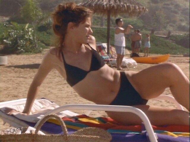 Sandra Bullock on the Beach.,   B - Sandra Bullock ...