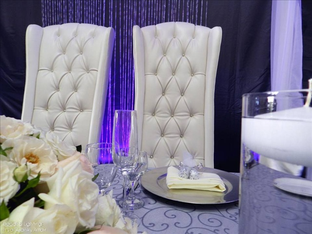 White Swarovski Crystal Bride Amp Groom Throne Chairs