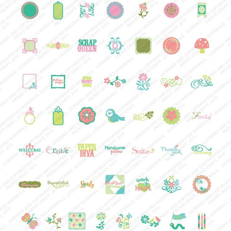 1000 images about 1 6 cricut craft room subscription for Cricut craft room fonts