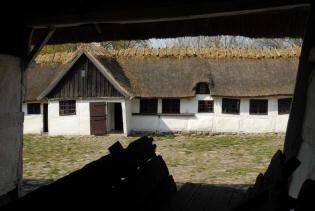 Gård fra Pebringe - Frilandsmuseet - Nationalmuseet