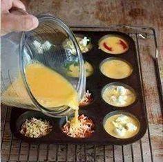Farandole de mini-quiches pour l'apéro Plus