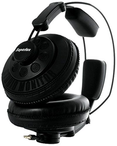 Superlux HD668B Dynamic Semi-Open Headphones - http://www.darrenblogs.com/2017/02/superlux-hd668b-dynamic-semi-open-headphones/