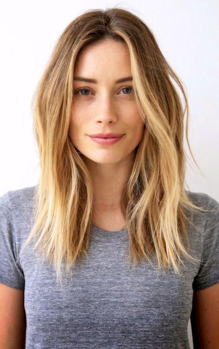 Cute Layered Haircuts For Medium Length Hair For Teenage Girls Medium Hair Styles Long Hair Styles Warm Blonde Hair
