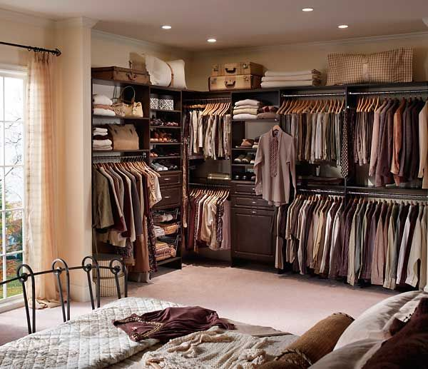 how to turn a small bedroom into a dressing room - Closet Bedroom Design