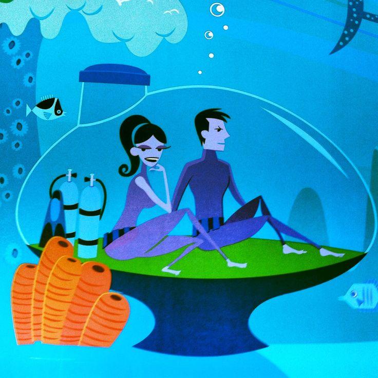 Shag Underwater