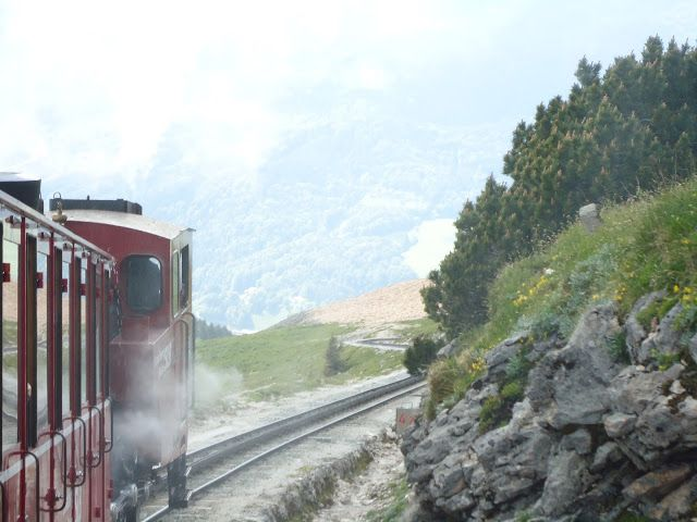 Schafberg train in Austria