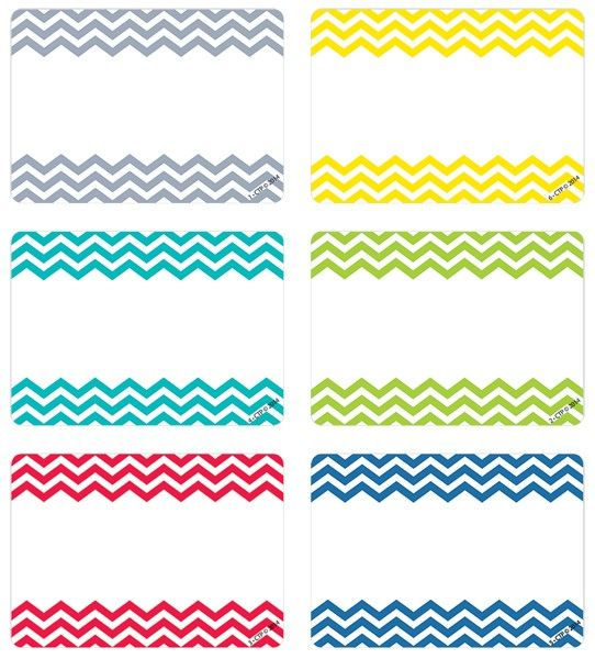 Chevron | Name Tags