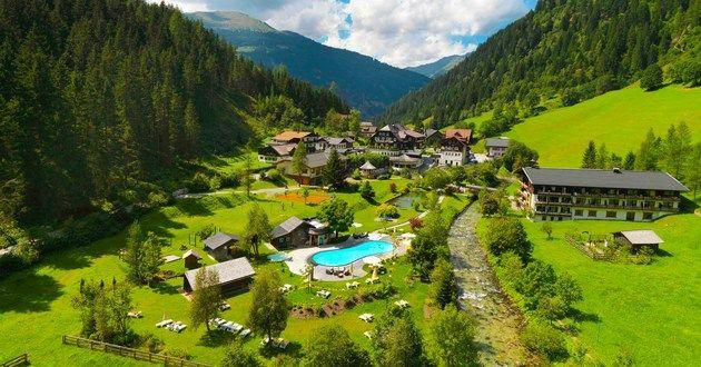 Austria summer 2009 - Hoteldorf Grüner Baum in Badgastein, Austria