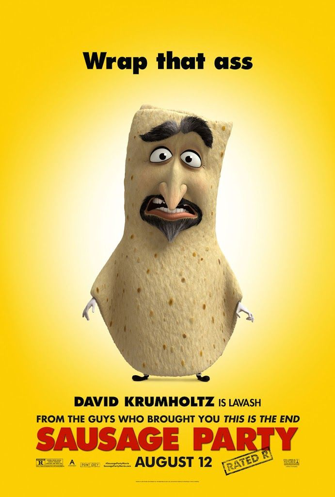 SAUSAGE PARTY movie poster No.6