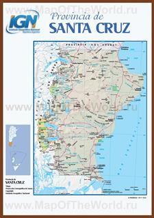 Карты Санта-Крус