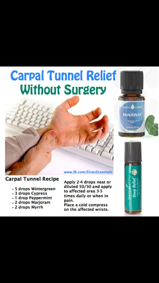 Carpal tunnelPain Relief, Carpal Tunnel Relief, Remedies, Young Living, Essential Oils, Tunnel Syndrome, Living Essential, Health, Carpel Tunnel