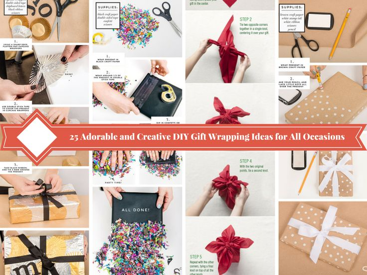 17 best unique gift wrapping ideas images on pinterest gift 25 adorable and creative diy gift wrapping ideas for all occasions solutioingenieria Gallery