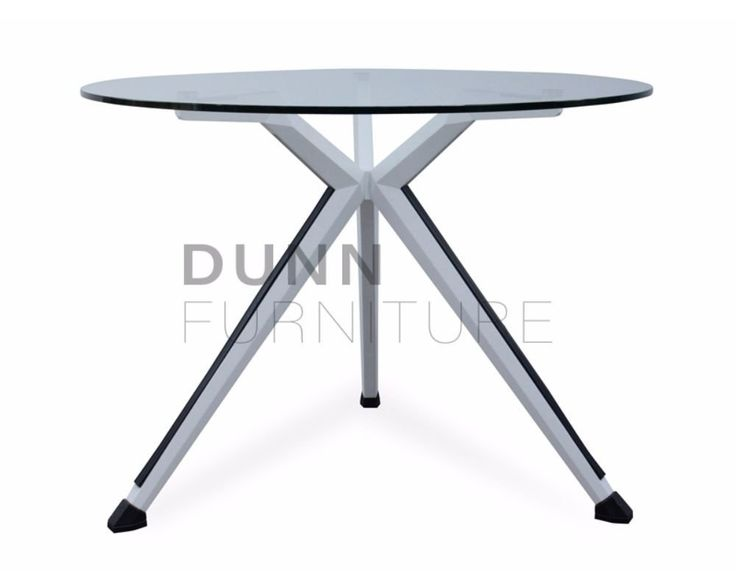 Sonic Round Meeting Table Glass Top – Dunn Furniture