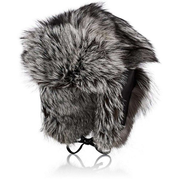 Crown Cap Men's Fur & Leather Trapper Hat ($1,385) ❤ liked on Polyvore featuring men's fashion, men's accessories, men's hats, mens leather tie, mens leather accessories, mens leather hats, mens hats and mens 5 panel hats