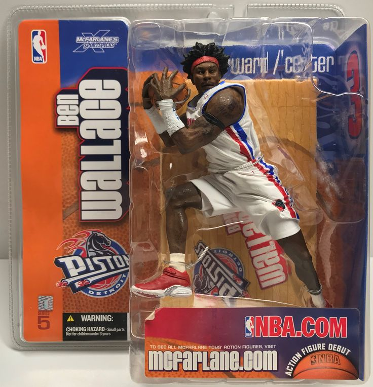 This just in at The Angry Spider Vintage Toy Store: TAS038647 - 2003 ...  Check it out here! http://theangryspider.com/products/tas038647-2003-mcfarlane-toys-nba-pistons-ben-wallace?utm_campaign=social_autopilot&utm_source=pin&utm_medium=pin