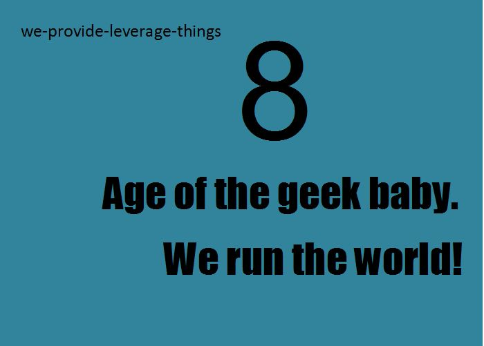 Leverage... AGE OF THE GEEK!!!