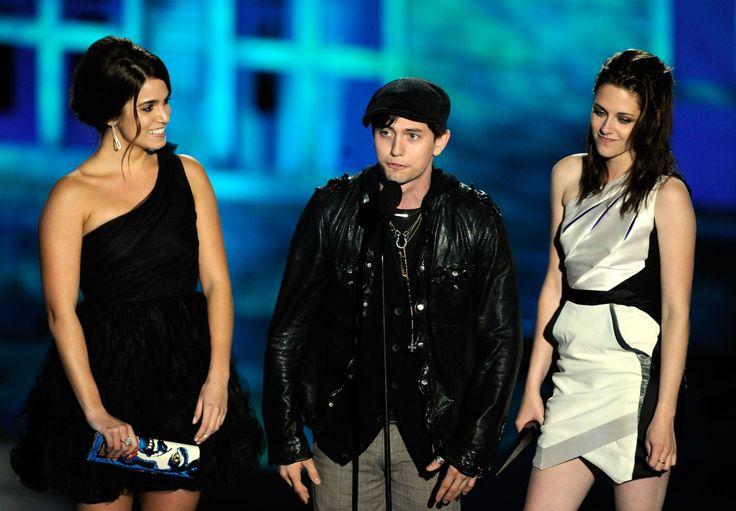 Twilight's  Nikki Reed, Jackson Rathbone, and Kristen Stewart 2010 Scream Awards Spike TV