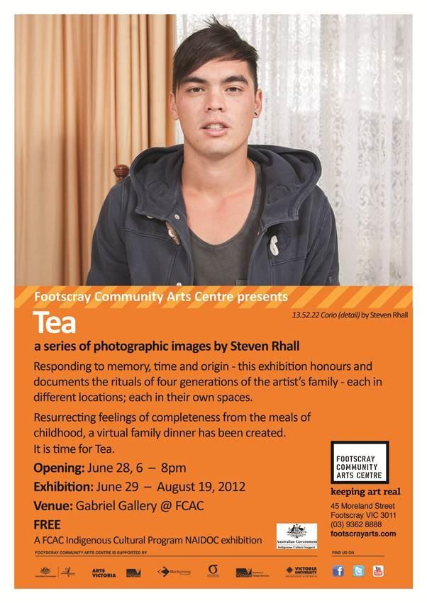 Flyer for 'Tea'.