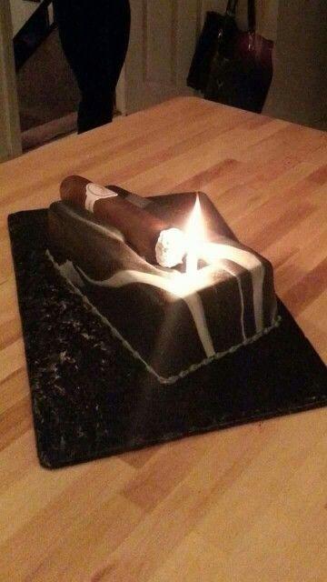 Cigar cake                                                                                                                                                     More