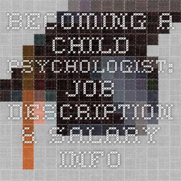 Becoming A Child Psychologist Pros And Cons Job Growth Salary