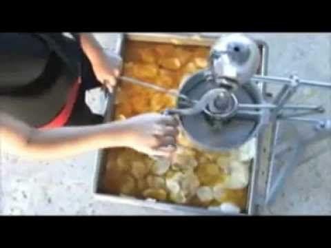 LA FABRICA DE PAPAS FRITAS. - YouTube