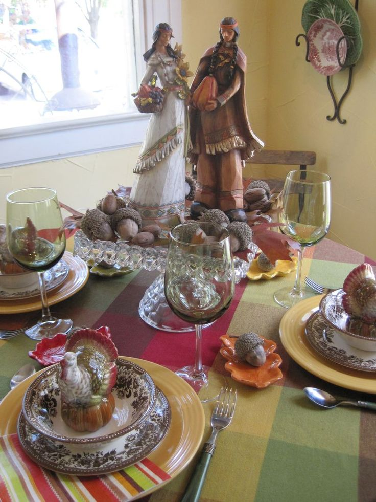 Native American Tablescape  Thanksgiving  Tablescapes