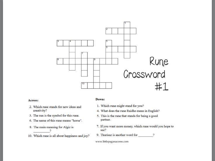 16 Best Runes Teaching For Kids Images On Pinterest Runes Celtic