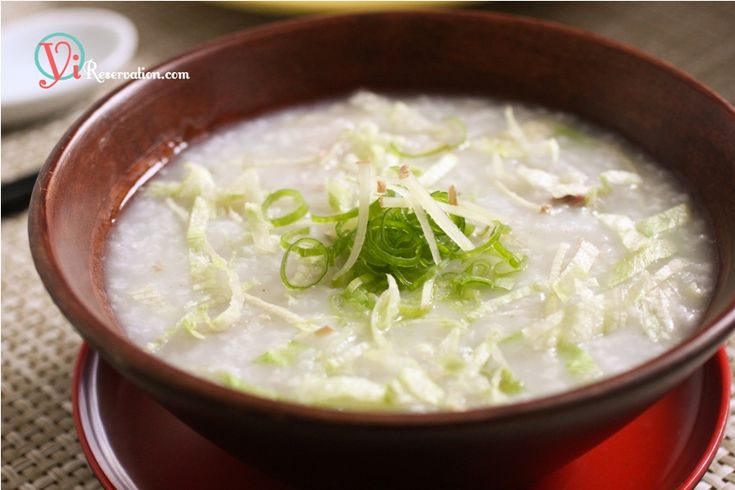 Congee with Minced Pork (瘦肉粥)