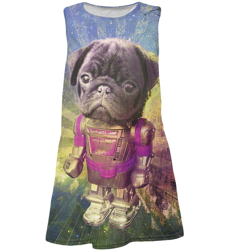 Robodog summer dress , Mr. GUGU & Miss GO