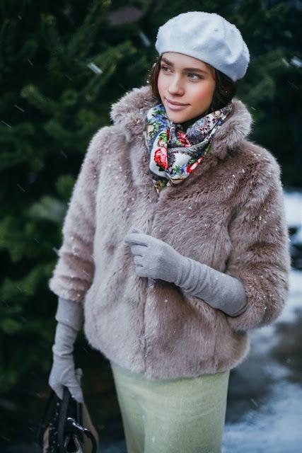 PURE FASHION | Katerina Dorokhova: БЕРЕТ + ШУБА