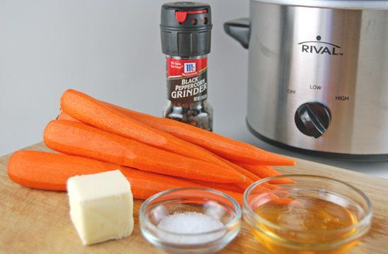Honey Glazed Carrots in the Slow Cooker - Eat at Home