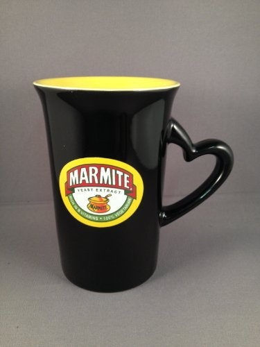 Marmite Mugs Love Heart Handle Cup Brand New Collectable | eBay