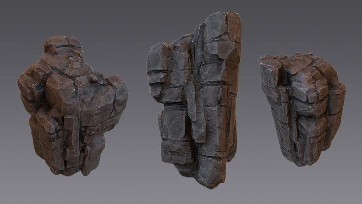 Personal Work - Rock Pattern - 2015, ARNAUD BARBIER on ArtStation at https://www.artstation.com/artwork/personal-work-rock-pattern