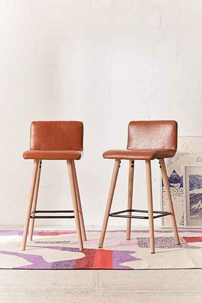 Best 25 Leather Counter Stools Ideas On Pinterest Bar