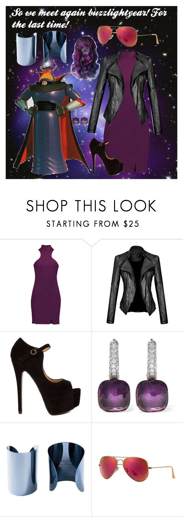 """""""Zurg/Toy Story"""" by weirdo478542 ❤ liked on Polyvore featuring Cinq à Sept, Pomellato, Maison Margiela and Ray-Ban"""