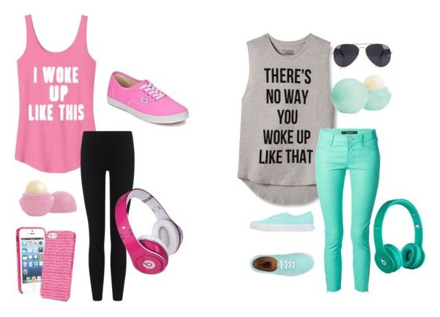 """""""Positive or Negitive"""" by beaners123 ❤ liked on Polyvore featuring INC International Concepts, J Brand, Eos, Vans, NLY Accessories, Vera Bradley, James Perse, Beats by Dr. Dre and Justin Bieber"""