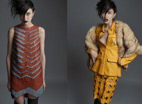 Zuzana Kubíčková, podzim/zima 2015, foto: Karel Losenický #design #czechdesign #fashion