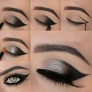 catwoman eye makeup - Google Search                                                                                                                                                                                 More