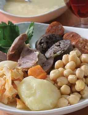 Cocido Madrileño   receta