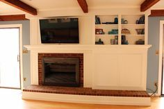 *The Handcrafted Life*: The Finale to Building a Fireplace Facade: Covering the Brick, Adding Shelves, a Cabinet and Trim, Painting