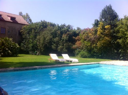 the Danae #villa #garden and #pool #metohikindelis #farmhouse #hotel #retreat #Crete