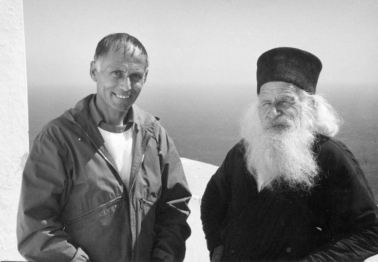 Pater Karl Stadler in Amorgos 1975