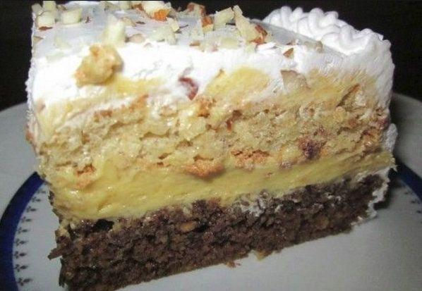 O prajitura delicioasa si pe gustul tuturor. Este atat de buna incat nu te poti opri la o singura bucatica - SanatateInBucate.com