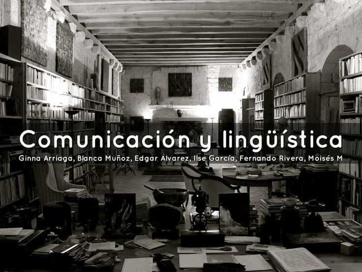 """I created """"Comunicación y lingüística"""" with Haiku Deck, presentation software that's simple, beautiful, and fun."""