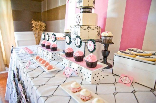 Paris theme dessert table dessert tables pinterest for Paris themed desserts